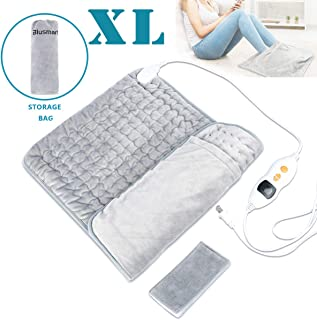 Blusmart XL Heating Pad, Ultra Soft Fast-Heating Pad w/Precise Temperature Control & Auto Shut-Off Design, Effectively Relieves Neck, Shoulder, Back, Wrist, Leg Pain - 16
