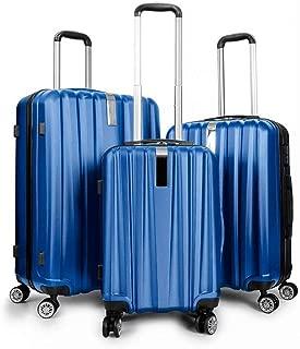Best living 5 pc luggage set black Reviews