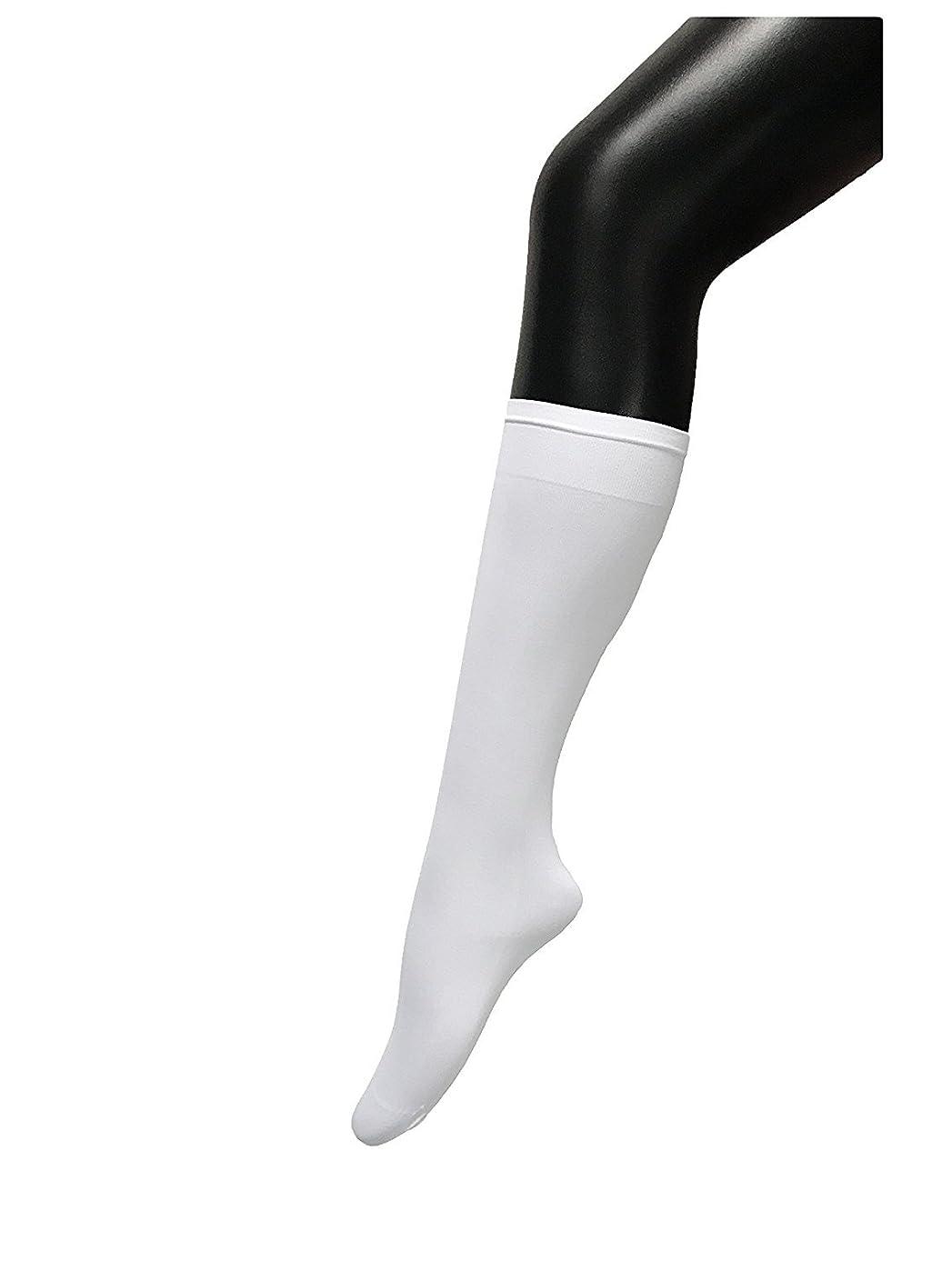 フォーク共和党水没COSCO ストッキング ソックス ニーソックス 膝下タイプ 着圧 美脚 40CM