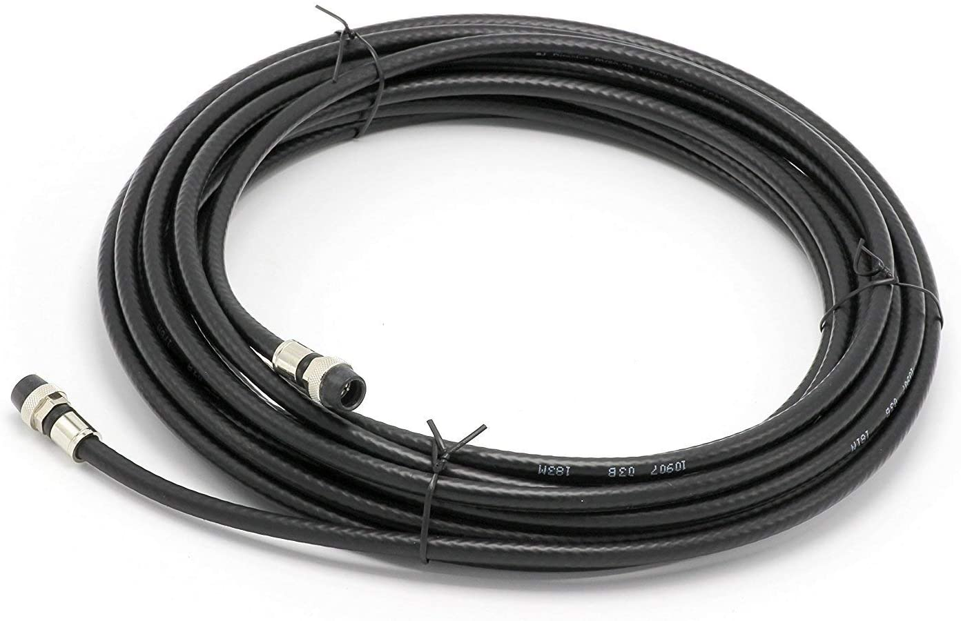 25' Feet Black RG6 Coaxial Cable Today's Max 51% OFF only Weather with P - booted Rubber