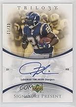 LaDainian Tomlinson #11/33 (Football Card) 2007 Upper Deck Trilogy - Present Signatures #PRS-LT