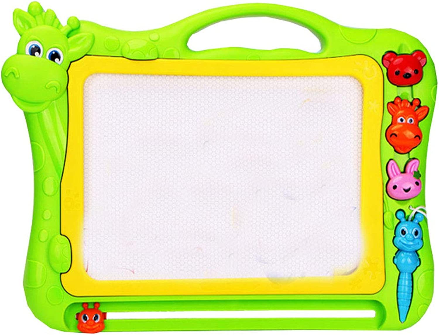 Magnetic Drawing Board,Writing Board,Doodle Board for Kids for Learning,Green,Cow