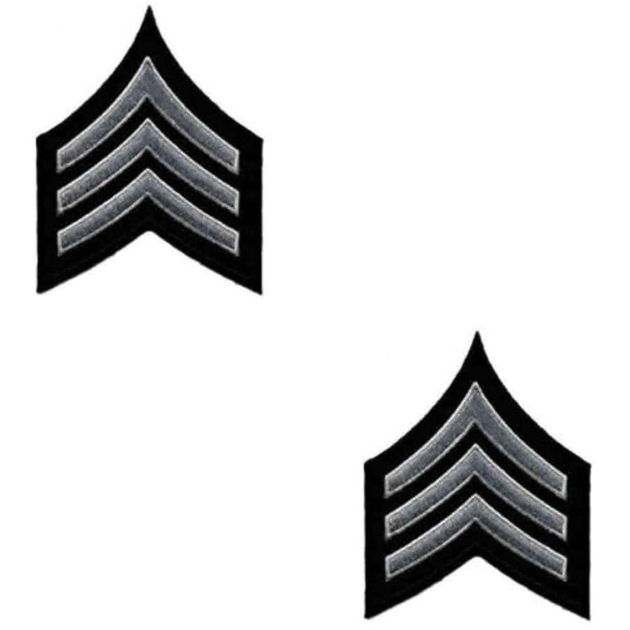 Uniform Chevrons - LAPD - Pair - Sergeant I