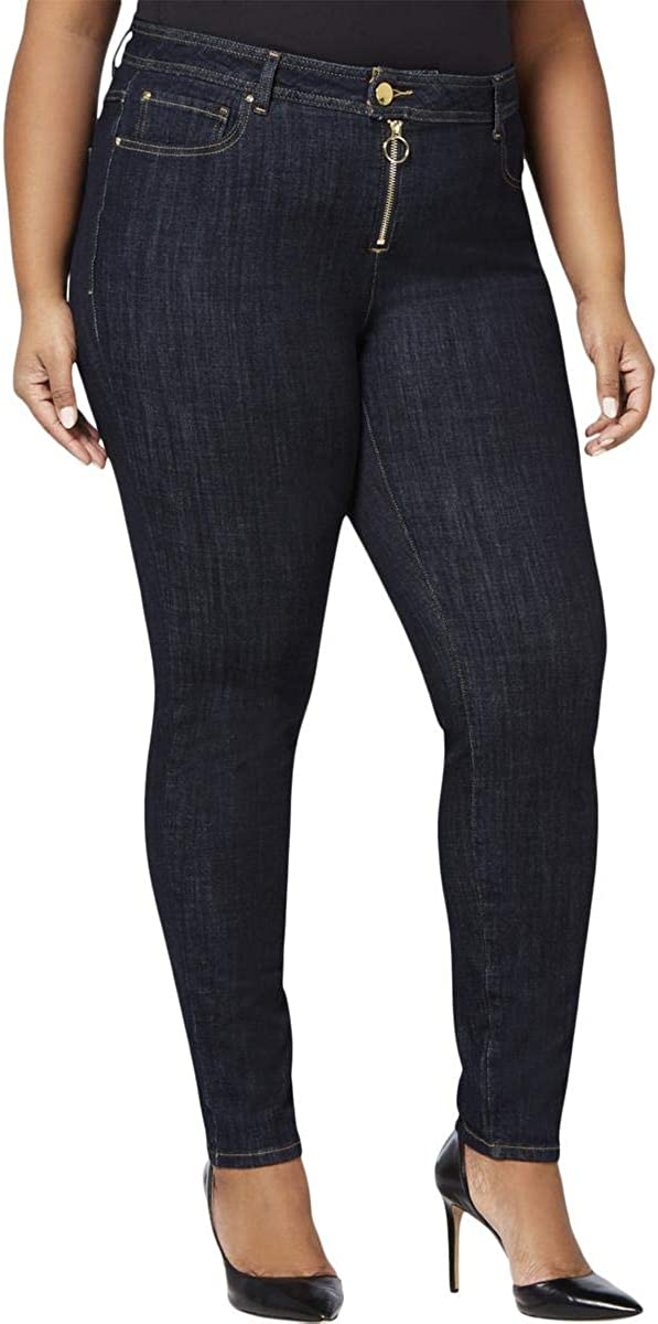 I-N-C Womens Coutour Skinny Fit Jeans