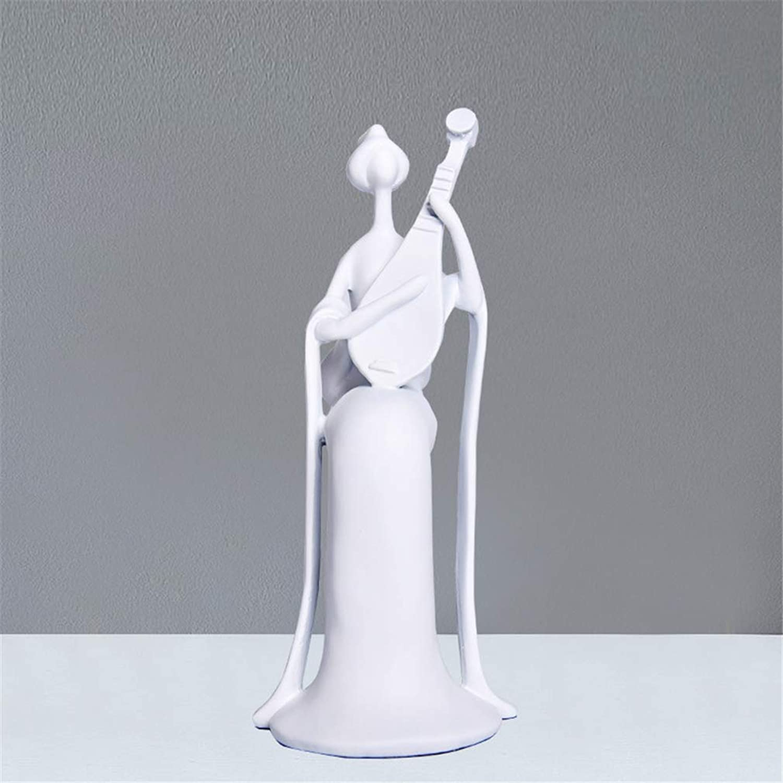 Sculptures Statues Modern Home Decoration Decoration Resin Crafts White Character Artwork Living Room Arrangement