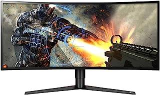 "LG 34GK950F-B 34"" 21:9 Ultragear WQHD Nano IPS Curved Gaming Monitor with Radeon FreeSync 2, Black"