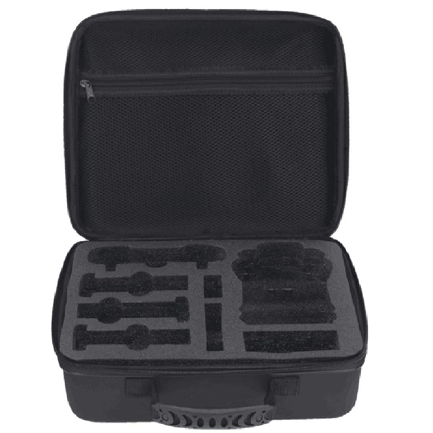 Fullwei Waterproof Portable Case Compatible with Hubsan Zino H117s - Perfect for Travel and Storage Organizer - Versatile EVA Interior and Precise Fit Cut - Complete Protection For Hubsan Zino (Black)