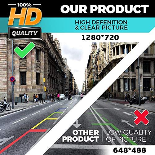 HD 1280x720p Reversing Camera Integrated in Trunk Handle Rear View Backup Camera for BMW X1 F48 /BMW 1er F20 F21 BMW 3er F30 F35 BMW 5er F10 340i 330d 540i M550d 2018-2019