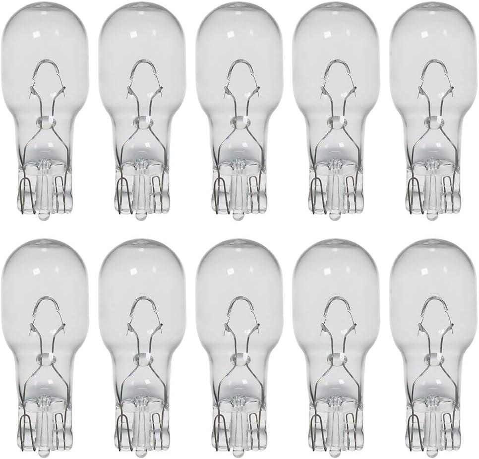 Landscape Light Bulbs,Low Voltage Light Bulbs, T5 Malibu Bulbs 11W, Garden Light Bulbs 12V, Wedge Base, Landscape Bulbs 10 Pack