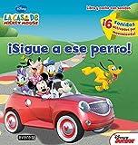 La Casa de Mickey Mouse. ¡Sigue a ese perro! Libro y coche con sonidos: ¡6 sonidos activados por movimiento! (La casa de Mickey Mouse / Libros singulares)