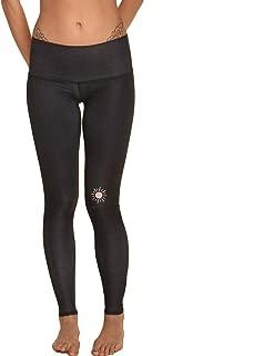 Teeki New Moon Black Hot Pant Yoga Leggings