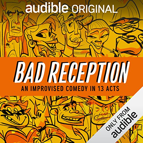 Bad Reception audiobook cover art
