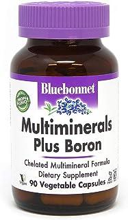 BlueBonnet Multi Minerals Plus Boron Vegetarian Capsules, 90 Count (743715002104)
