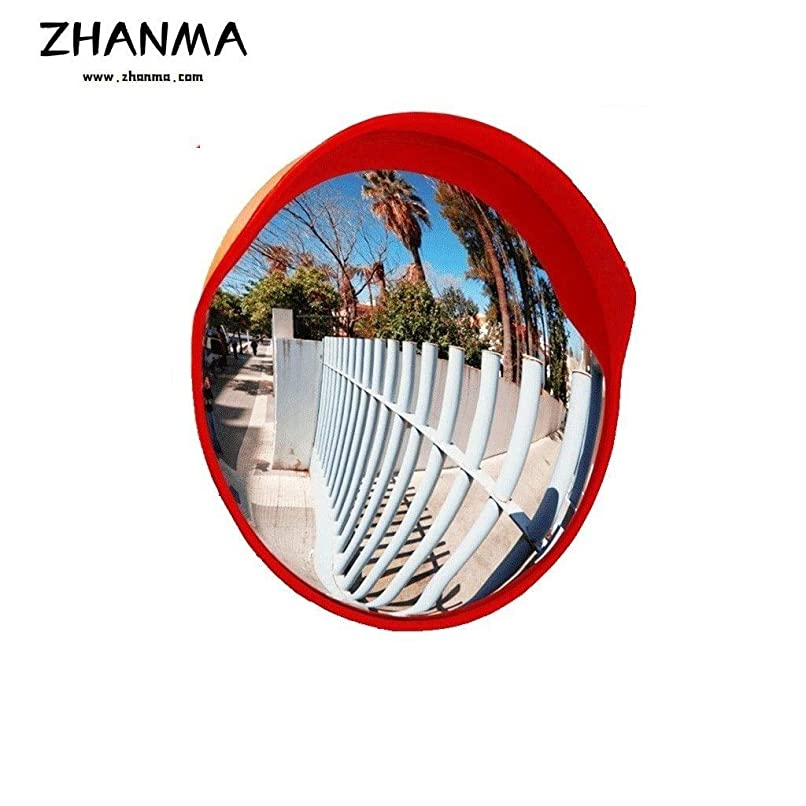 ペルセウス達成影響ZhanMa ガレージミラー,カーブミラー 曲面ミラー45センチメートル60センチメートル75センチメートル80センチメートル100センチメートル120センチメートル屋外交通安全アンチコリジョンミラー地下駐車場は、高凸面鏡を回し (Size : 45cm)