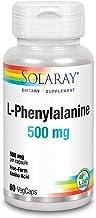 Solaray L-Phenylalanine Veg Cap (Btl-Plastic) 500mg | 60ct