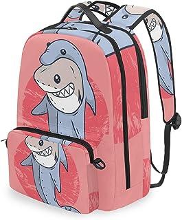 Mochila con bolsa cruzada desmontable, Shark Computer Backpacks, bolsa para viaje, senderismo, camping