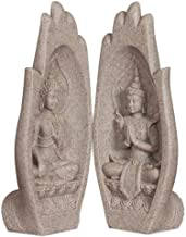 Ornaments Statues Sculptures Sculptures Statues Ornaments Figurine Collectible Figurines 2 Pc/Set Small Buddha Statue Indi...