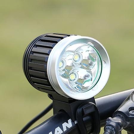 Apace Vision /éclairage pour V/élo USB Rechargeable Lampes Avant /& Arri/ère Ultra Lumineuses pour Une S/écurit/é optimale Lampe Avant et Arri/ère /à LED pour V/élo Puissance 300 Lumens