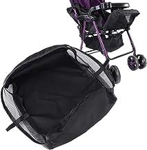 Kinderwagenkorb, Kinderwagen Kinderwagen Buggy Shopping Aufbewahrungskoffer Boden hängen Organizer Tasche Mesh Netting Zubehör Organizer
