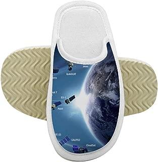 812 NASA Children's Memory Foam Indoor Slippers Outdoor Indoor Children's Shoes