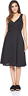 Calvin Klein A-line dress for women in Black, Size:XS