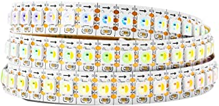 BTF-LIGHTING RGBW RGBNW Natural White SK6812 (Similar WS2812B) 3.3ft 1m 144leds/pixels/m Individually Addressable Flexible 4 color in 1 LED Dream Color LED Strip Non-waterproof DC5V