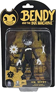Bendy and the Ink Machine Series 1 Ink Bendy Action Figure with 2 Character Accessories, 5-Inch Size