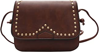 D DOLITY New Design Square Mini Bag Women Handbag Tote Purse Messenger Small Bags