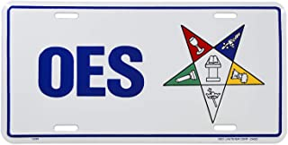 Order of The Eastern Star Masonic License Plate