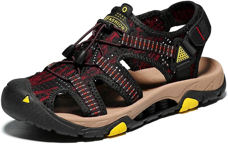 Andningsbara Baotou strand -skor Elastiska med tillfälliga skor mot mot mot glidning  online mode shopping