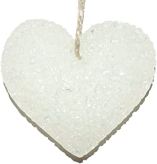 ChicWick Car Candle Leather and Lace Heart Shape Car Freshener Fragrance
