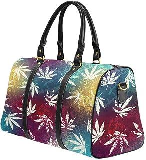 InterestPrint Carry on bag Travel Duffel Tote Unisex Weekender Bag Sweet Christmas Pattern