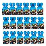 smileh Scatola Avengers Scatole Caramelle scatole di Regalo Borse Sacca Sacchettini del per Festa di Compleanno Bambini Sacchetto Festa Avengers 18Pcs