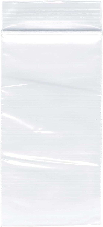 Plymor Zipper Reclosable Plastic Bags 2 Mil 1 safety Surprise price x 2