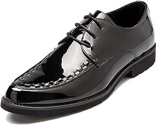 [フォクスセンス] 革靴 ビジネスシューズ メンズ アウトドア 紳士靴 エナメル靴 防臭性 大きなサイズ 快適軽量 柔軟 滑り止め