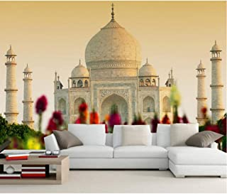 Pbldb Custom 3D Mural Taj Mahal Mosque Agra India Photo Wallpaper Living Room Tv Sofa Wall Bedroom Restaurant -120X100Cm