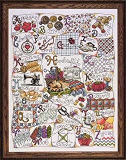 Design Works Crafts Tobin 390636 Stitching ABC Counted Cross Stitch Kit-16