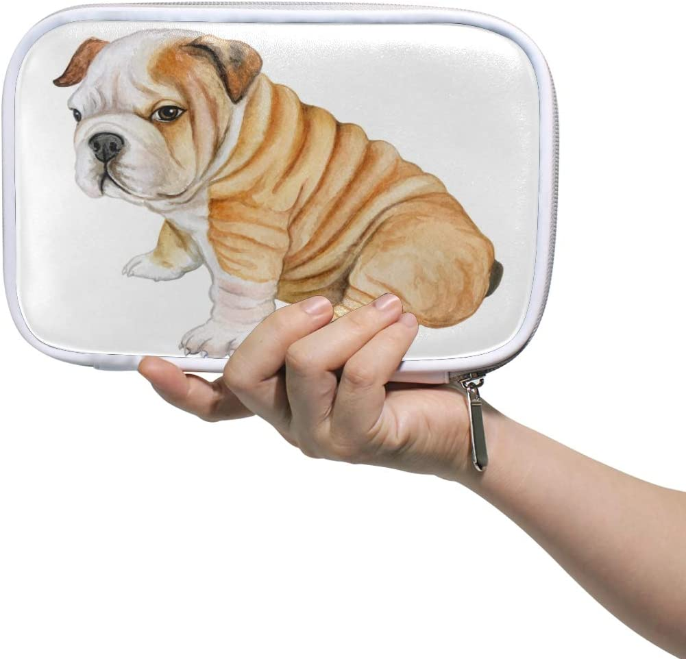 Bardic 5 ☆ very popular Pen Attention brand Pencil Case French Bulldog Or Travel Bag Brush Makeup