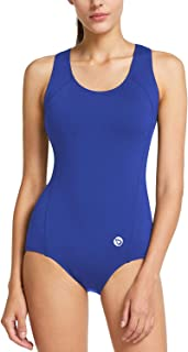 Women's Conservative Athletic Racerback One Piece...