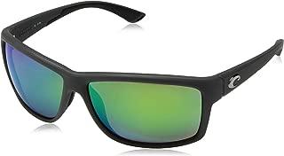 Mag Bay Sunglasses Matte Gray/Green Mirror 580Plastic