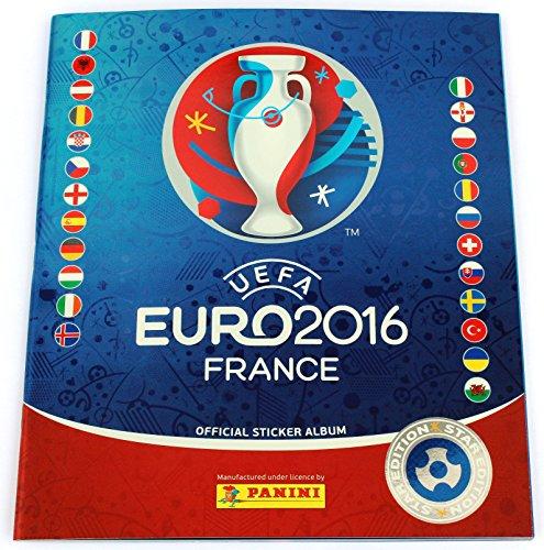 Panini Euro 2016 Leeralbum Schweizer Ausgabe Star Edition - RAR