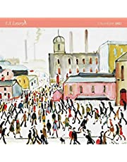 L. S. Lowry 2021: Original Flame Tree Publishing-Kalender [Kalender]