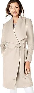 Cole Haan Women's Wool Slick Belted Coat