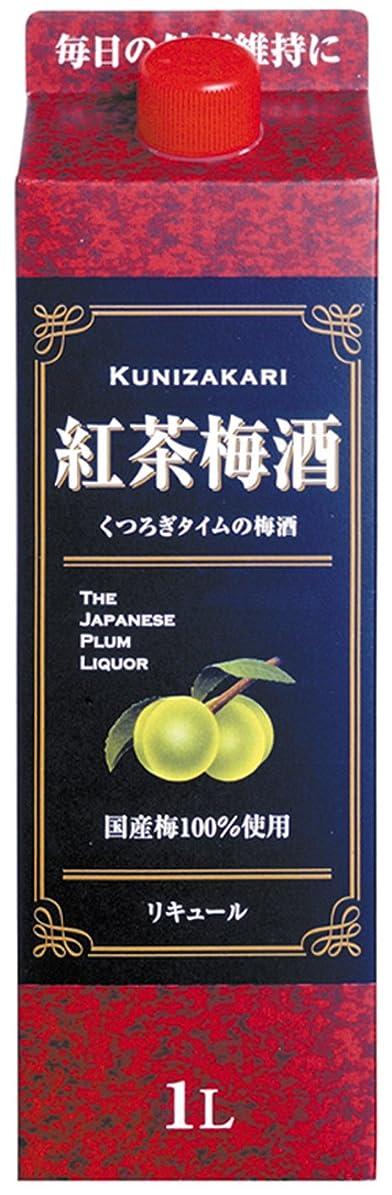 またね最もおばさん中埜酒造 國盛 紅茶梅酒パック [ リキュール 1000ml ]