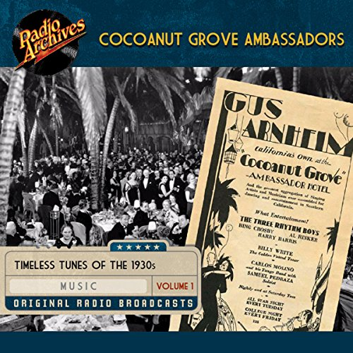 Cocoanut Grove Ambassadors, Volume 1 cover art