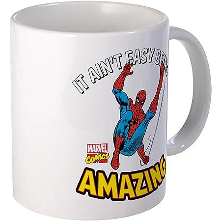 CafePress Iron Man Flying Mug 11 oz Ceramic Mug 1392862054