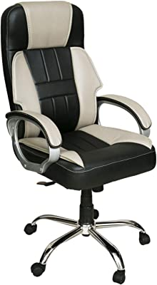 CELLBELL C84 High Back Revolving Boss Chair [Light Grey-Black]