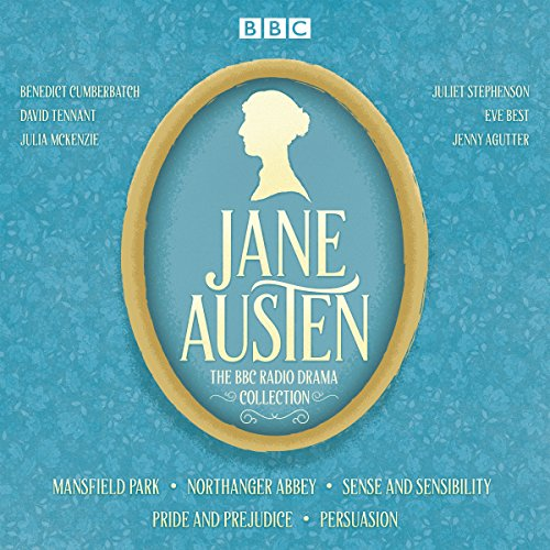 The Jane Austen BBC Radio Drama Collection     Six BBC Radio Full-Cast Dramatisations              By:                                                                                                                                 Jane Austen                               Narrated by:                                                                                                                                 David Tennant,                                                                                        Benedict Cumberbatch,                                                                                        Julie McKenzie                      Length: 14 hrs and 27 mins     1,709 ratings     Overall 4.5