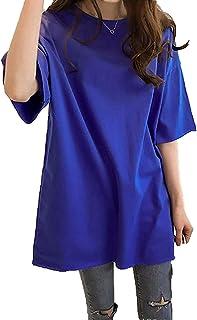 [ SmaidsxSmile(スマイズ スマイル) ] Tシャツ トップス 半袖 カットソー ビックT シンプル ゆったり 丸首 レディース