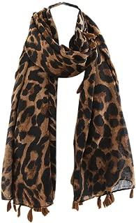 Best long leopard scarf Reviews